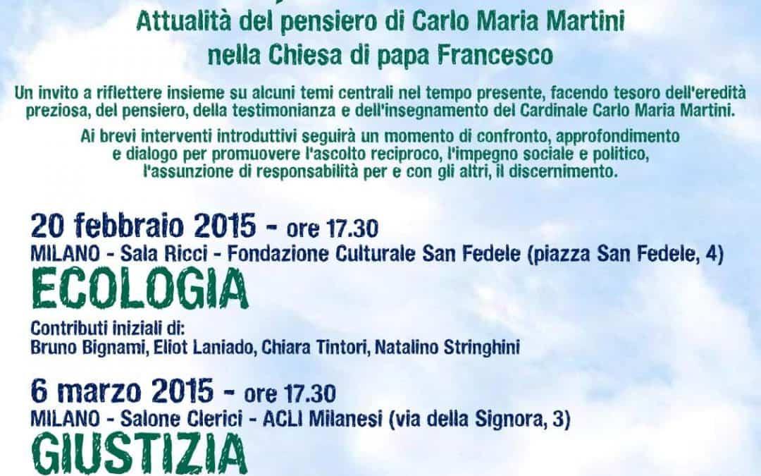 Ecologia, giustizia, pace. Al via il 20 febbraio un ciclo di incontri a Milano