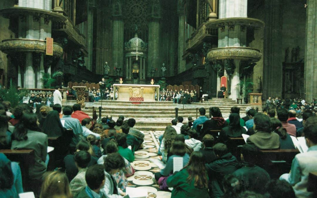 Il pane per un popolo: ascolta la Scuola della Parola del 1987
